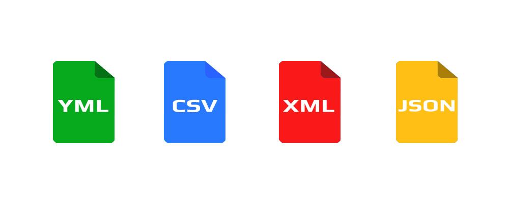 Veri Değişiminde Kullanılan Formatlar : YAML, CSV, XML, JSON