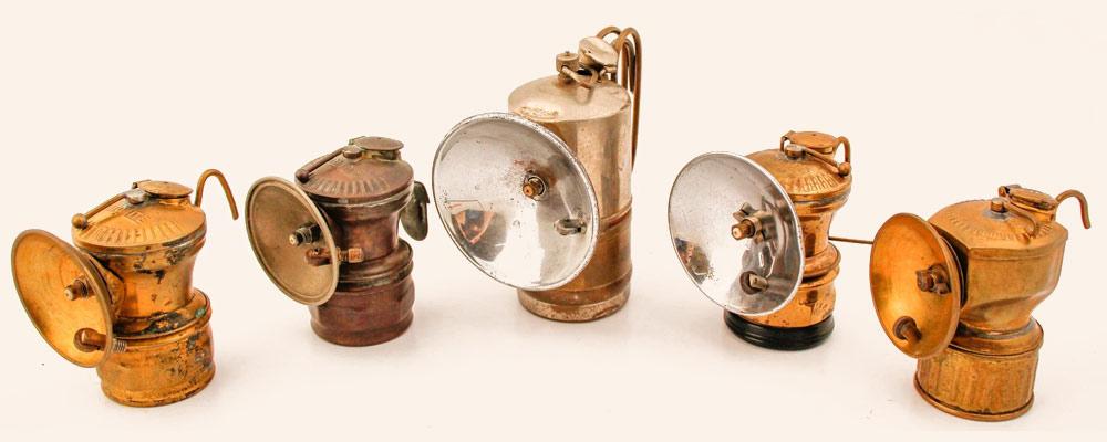 Karpit Lambası (Eski Madenci Lambası)