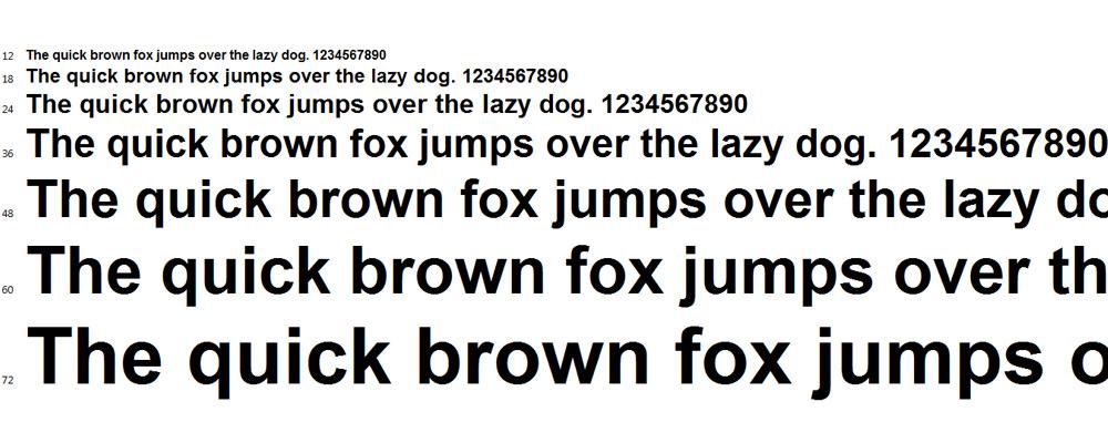Serif ve Sans-Serif Fontları
