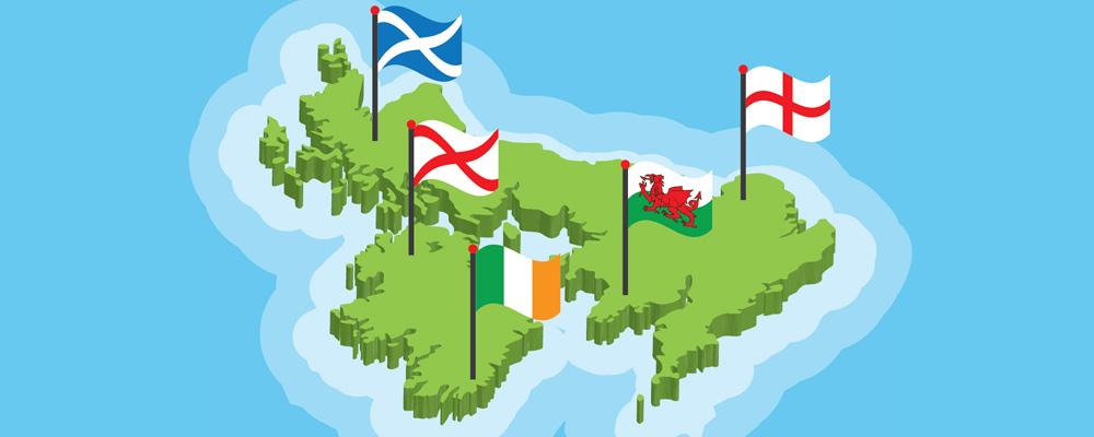 İngiltere, Büyük Britanya, Birleşik Krallık, Britanya Adaları Neresidir?