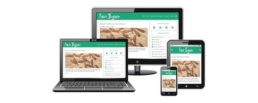 Tüm Cihazlara Uyumlu Website İçeriği